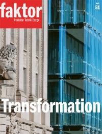 "Das Faktor-Themenheft ""Transformation"" kostet CHF 30."